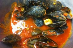 This is a great recipe for Mussels Marinara that is fairly easy to make and delicious over spaghetti or angelhair pasta. The mussels are cooked in a garlic and tomato and wine sauce and seasoned with black and red pepper for a little bit of heat. Also great served alone, or with a side of Bruschetta (sliced Italian bread toasts with olive oil and sea salt) for dipping in the sauce.To prepare the mussels for cooking, sort through them and throw out any that are open or don't close when…