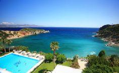 Mon ptit coin de Paradis, à moi... Agios Nikolaos, Crete (Istron Bay Hotel) #powerpatate #voyager