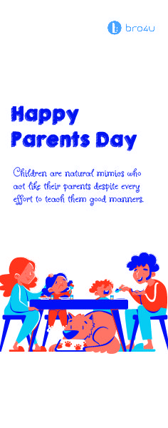Good Manners, Happy Parents, Special Day, Acting