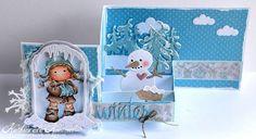 Eine Pop Up Box in einer Karte - Pop Up Box in a card