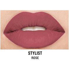 Smashbox Be Legendary Cream Lipstick, Stylist Matte 1 ea ($21) ❤ liked on Polyvore featuring beauty products, makeup, lip makeup, lipstick, smashbox and smashbox lipstick