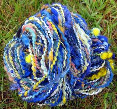 """Starry Night"" inspired yarn :)"