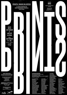 black and white, graphic design, poster, typography Graphic Design Posters, Graphic Design Typography, Lettering Design, Typo Poster, Typographic Poster, Layout Design, Page Design, Print Design, Typography Inspiration