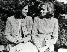 Sisters Barbara Cushing and Betsey Cushing Roosevelt