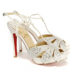 Christian Louboutin Sandals have always been favored by many famous super stars from all over the world, especially for the Hollywood celebrities. This Christian Louboutin Margi Diams 120 Sandals is a fashion design will add some glamour to the wearer. These Red Sole Shoes have always got great reputation among young beautiful ladies. Moreover, our Christian Louboutin red bottom high heels are made of high quality materials which will bring you the most comfortable wearing enjoyment.