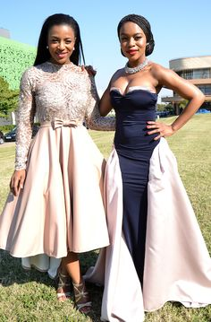 DESTINY Magazine - The Durban July was a big mish-mash of big screen and recycled outfits in keeping with it's glamorous themes African Wedding Attire, African Attire, African Dress, Lovely Dresses, Stylish Dresses, Elegant Dresses, African Print Fashion, African Fashion Dresses, South African Celebrities