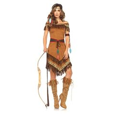 Native American Princess Womens Costume