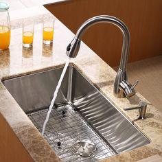 Sink/faucet combo $599