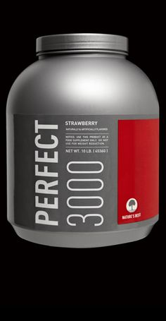 Perfect 3000 was designed to help athletes that have had difficulty gaining weight with everyday food and/or a standard weight gain formula. When mixed with water, each serving contains 60 grams of PERFECT protein and 533 grams of quality carbohydrates.