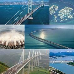 inşaat mühendisliği, mühendislik harikaları, harika mimariler, mega yapılar, mimari, mimarlık, mimar, inşaat, şantiye
