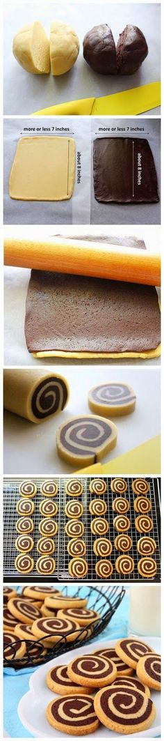 AKCollection: Basic Chocolate Pinwheel Cookies