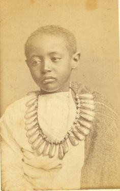Prince Alamayu upon being captured in 1868.