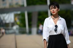 RED LIPS | #StreetStyle on #TheStreetMuse by #MelanieGalea