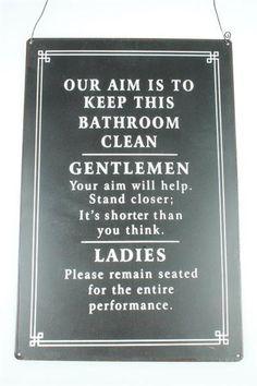 bathroomrules  This is funny.