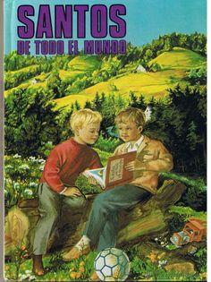 SANTOS DE TODO EL MUNDO. APOSTOLADO MARIANO. SEVILLA 1983. ILUST. Mª ROSA GARCIA. - Foto 1