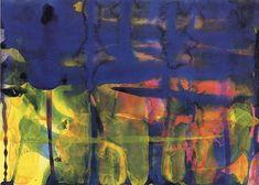 13.10.1990 » Gerhard Richter - watercolor on paper - 24 cm x 34 cm