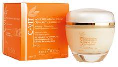 C-Vit Crema Facial Hidratante: indicada en prevención y tratamiento del envejecimiento cutáneo en todo tipo de pieles. Refuerza y facilita la producción de colágeno.