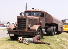 """Truck from the movie """"Duel"""""""