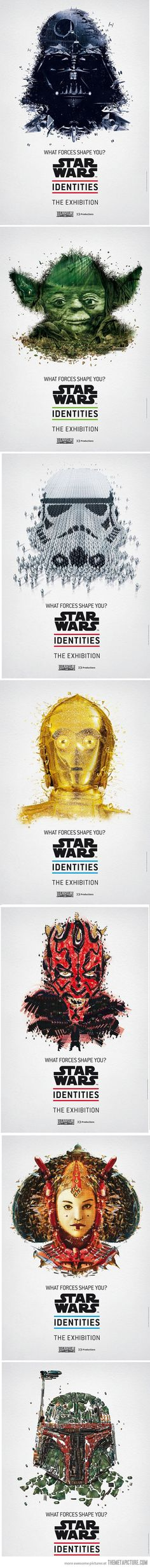 Awesome Star Wars posters.