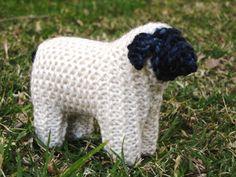Waldorf Toy Suffolk Sheep Knitting Pattern PDF by mamma4earth, $5.00