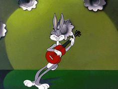 Free animated Bugs Bunny gifs - best Bugs Bunny animation collection - over 10000 gifs Looney Tunes Cartoons, Old Cartoons, Classic Cartoons, Animiertes Gif, Animated Gif, Cartoon Gifs, Cartoon Characters, Vintage Stickers, Tears In Heaven
