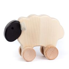 Bajo wooden sheep pull-along toy