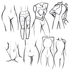 Drawing Tips Hips drawing - Anatomy - Drawing Drill Challenge by Smirking Raven - This week's themes were hips, hands, arms, faces and cats. Human Figure Drawing, Figure Drawing Reference, Body Drawing, Drawing Base, Anatomy Drawing, Manga Drawing, Body Sketches, Art Sketches, Art Drawings