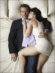 Lisa Edelstein/Hugh Laurie in House