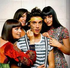 Mika and all 3 of his sisters