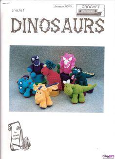 Dinosaurs-Dawn Inskip-Free Craft Patterns