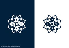 طراحی لوگوی شهرداری نقاب logo design