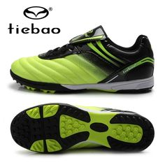 43.50$  Buy now - http://alirfc.worldwells.pw/go.php?t=32744906725 - TIEBAO Professional Kids Children Sneakers Outdoor Sport Football Shoes TF Turf Rubber Soles Boys Girls Football Boots EU 30-38 43.50$