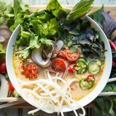 Authentic Thai coconut soup made the healthy and paleo way!