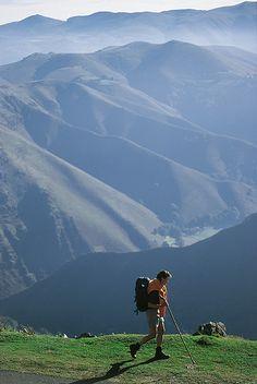 The Pyrenees - around St Jean De Pied De Port! Love it! Want to do the Camino de Santiago de Campostella one day.....