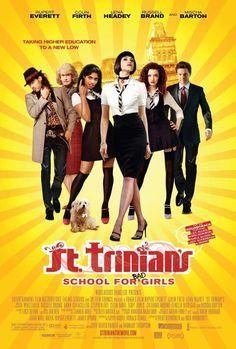 'St Trinian's'— Russell Brand, Rupert Everett, Amara Karan, Gemma Arterton, Talulah Riley and Colin Firth