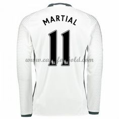 Fodboldtrøjer Premier League Manchester United 2016-17 Martial 9 3. Trøje Langærmede