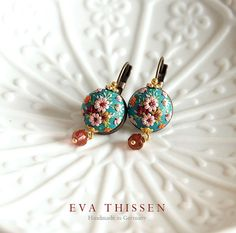 SAKURA. Chic and simple handmade earrings. Made to by EvaThissen, €33.00