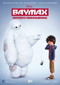 Hiro and Baymax - Big Hero 6 Disney Pixar, Walt Disney, Disney Marvel, Disney Films, Disney And Dreamworks, Disney Love, The Big Hero, Hiro Big Hero 6, Big Hero 6 Baymax