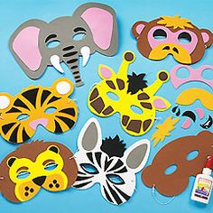 Google Image Result for http://www.yellowmoon.org.uk/images/products/medium/Jungle-Animal-Foam-Mask-Craft-Kits-M793.JPG