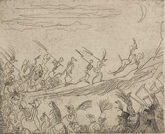 """james ensor""Cortège Infernal, 1887"