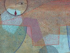 Sunset, 1930, by Paul Klee