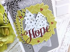 In Christ Alone Card by Danielle Flanders for Papertrey Ink (November 2016)