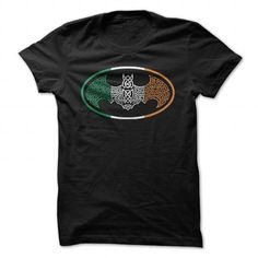 Batman Irish Celtic Flag T Shirts, Hoodies. Get it now ==► https://www.sunfrog.com/Movies/Batman-Irish-Celtic-Flag.html?57074 $19.99