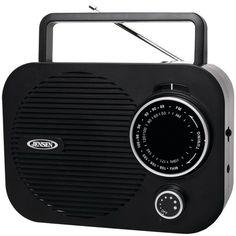 Jensen Portable Am And Fm Radio (black)