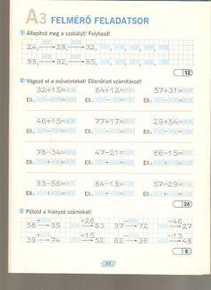Albumarchívum - Sokszínű matematika felmérő 2. osztály Bullet Journal, Album, Education, Archive, Google, Math Resources, Educational Illustrations, Learning, Card Book