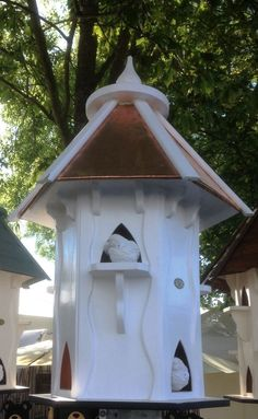 Other Bird & Wildlife Accs Yard, Garden & Outdoor Living Dovecote Dovecotes Dove Cote With Copper Roof