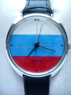 Soviet watch vintage Raketa from Russia with love