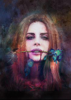 Lana del Rey by Richard Davies