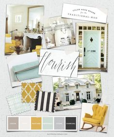 How to Create a Mood Board For Your Interior Design Project - Sofa Workshop How to Create a Mood Board For Your Interior Design Project. Read our tips on how to create a mood board that will lead to the room you always dreamed of Mood Board Interior, Interior Design Boards, Home Interior, Interior Decorating, Moodboard Interior Design, Color Inspiration, Interior Inspiration, Grey Bedroom With Pop Of Color, Design Apartment