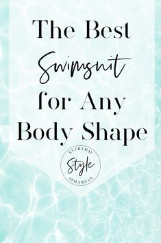 Discover the best swimsuit for your body type now. Whether you're an Apple Pear Hourglass or Rectang Chic Summer Style, Cool Style, Swimwear Guide, Women's Swimwear, Moving To Alaska, You Look Fab, Swimsuit For Body Type, Best Swimsuits, Suit Shop